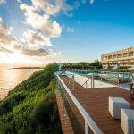 панорама отеля Niforeika Beach Hotel & Bungalows