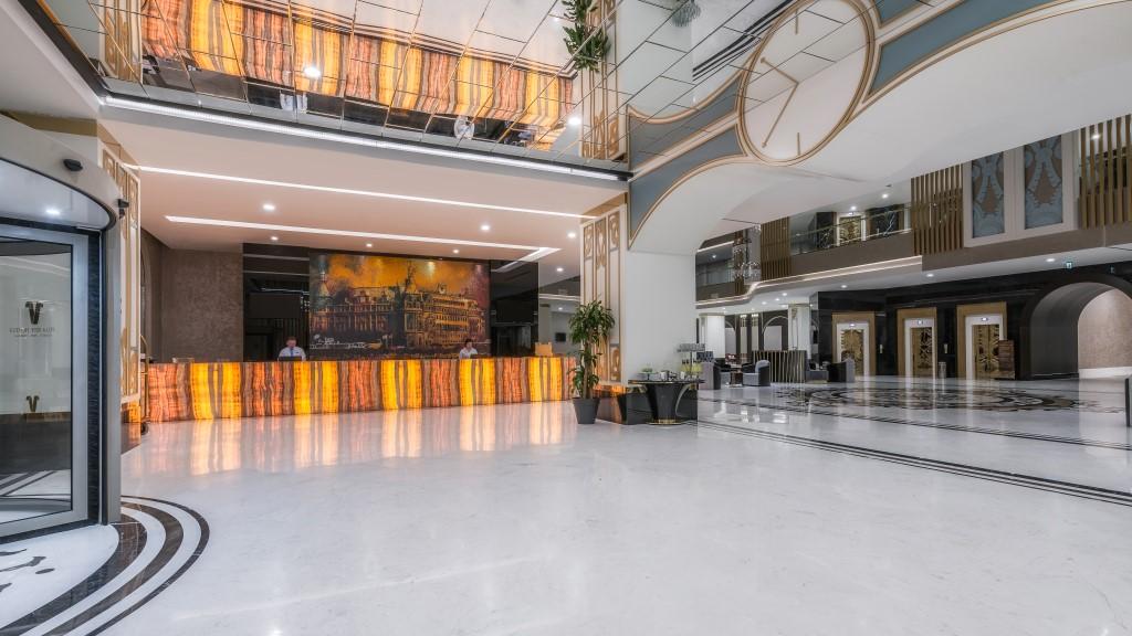 ресепшн отеля Haydarpasha Palace Hotel