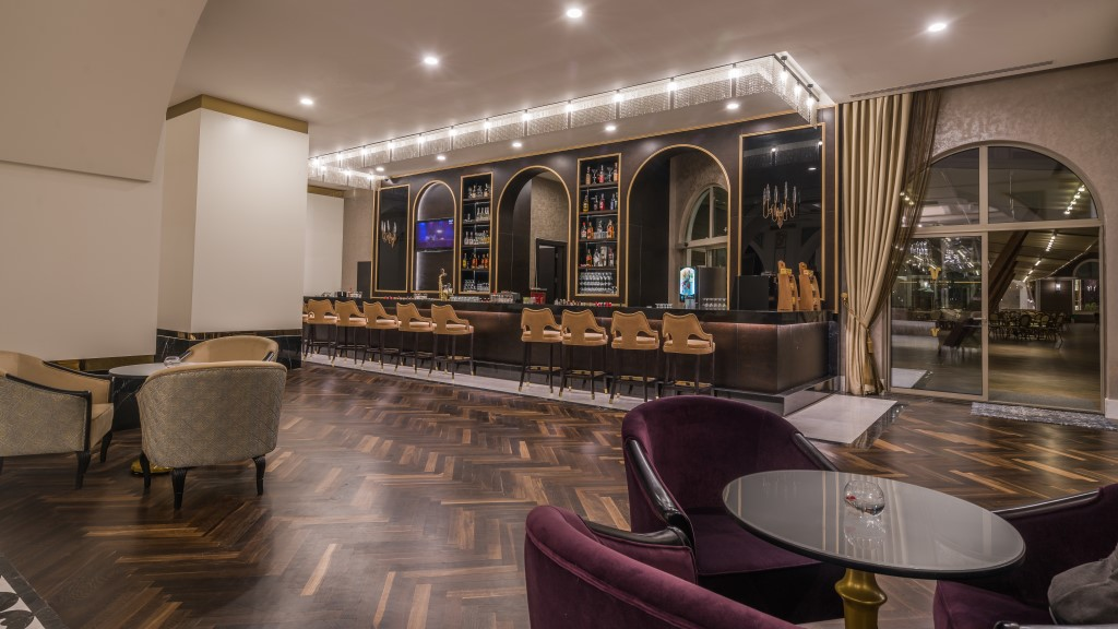 лобби бар отеля Haydarpasha Palace Hotel