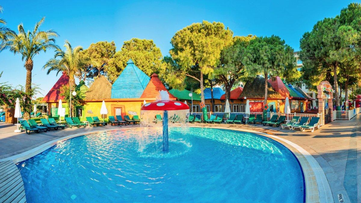 детский бассейн отеля Papillon Ayscha Hotels Resort & Spa