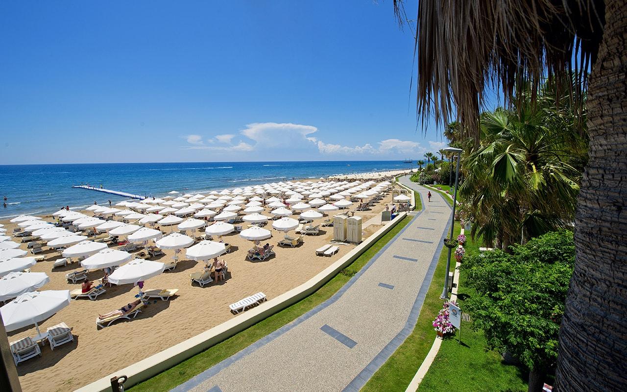 пляж отеля Barut Hemera