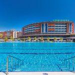 территория отеля Lonicera Resort & Spa Hotel