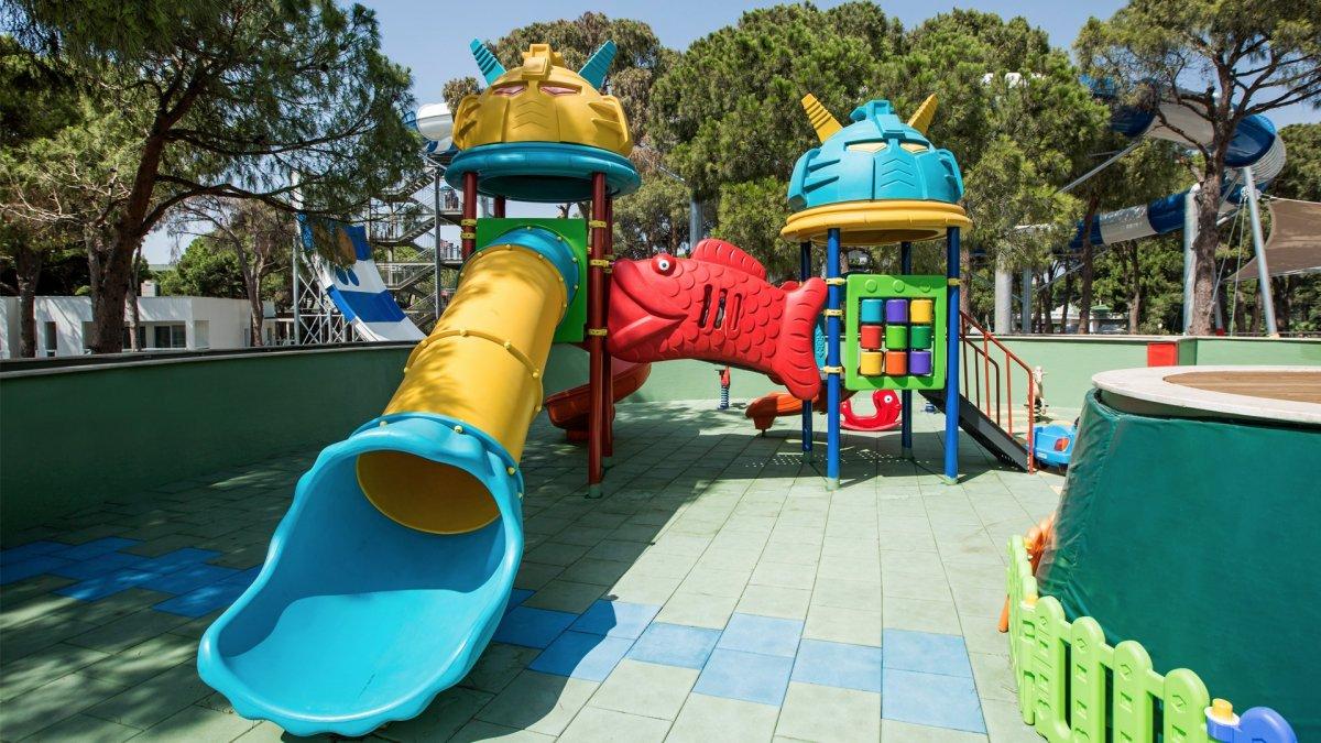 детская площадка отеля Papillon Zeugma Relaxury