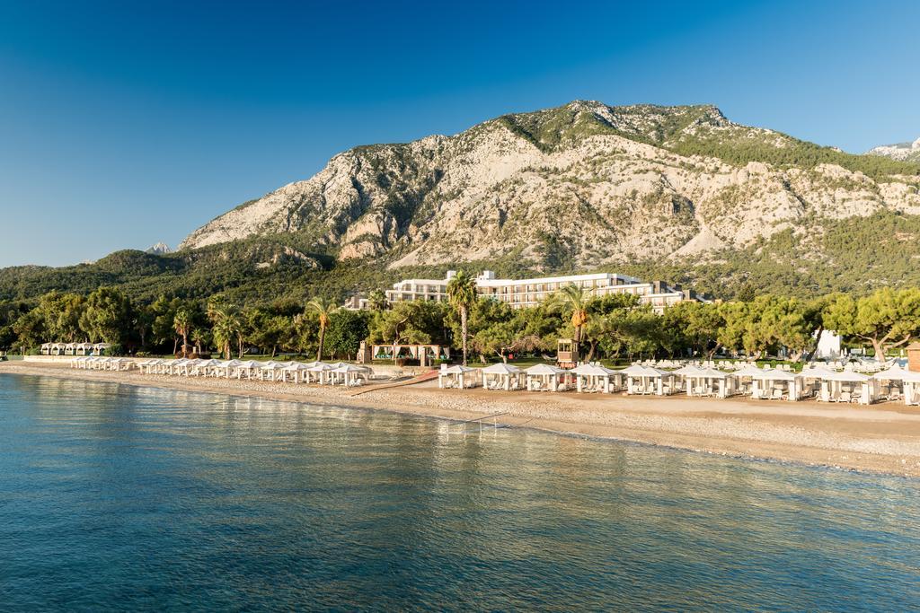 пляж отеля Rixos Beldibi