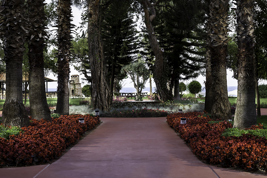 территория отеля Rixos Beldibi