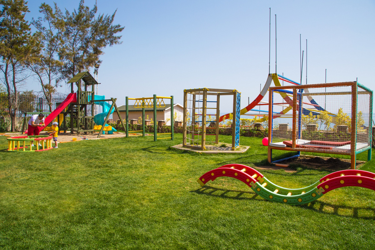 детская площадка отеля Rixos Beldibi
