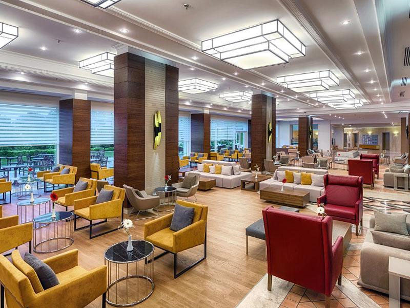лобби отеля TUI FUN&SUN Miarosa Ghazal Resort