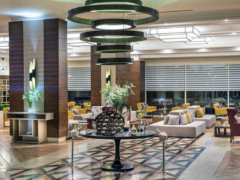 холл отеля TUI FUN&SUN Miarosa Ghazal Resort