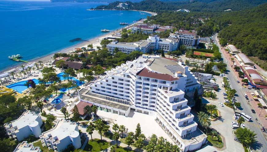 корпус отеля TUI FUN & SUN Comfort Beach Resort