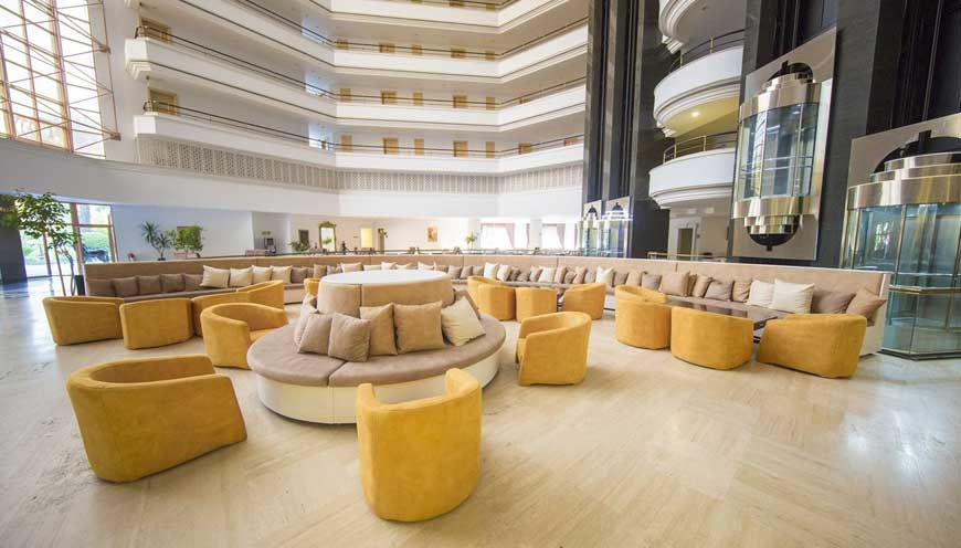 лобби отеля TUI FUN & SUN Comfort Beach Resort