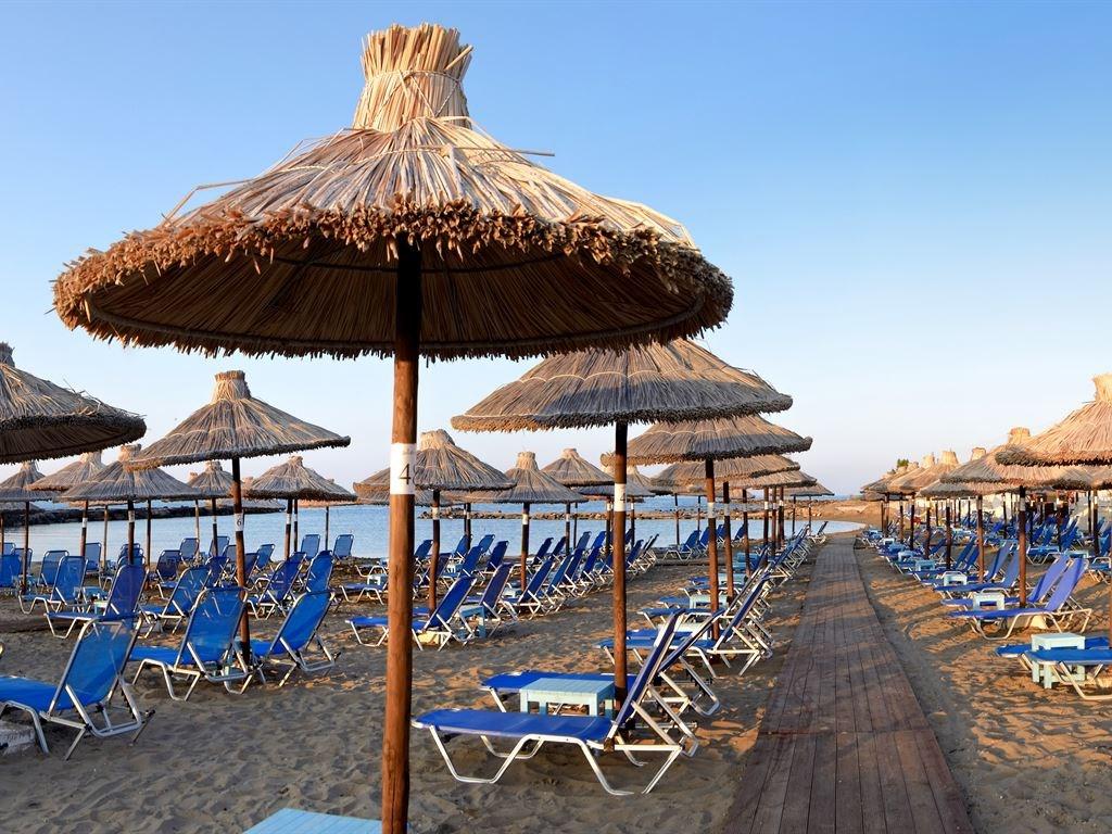 пляж отеля Stella Palace Resort & Spa