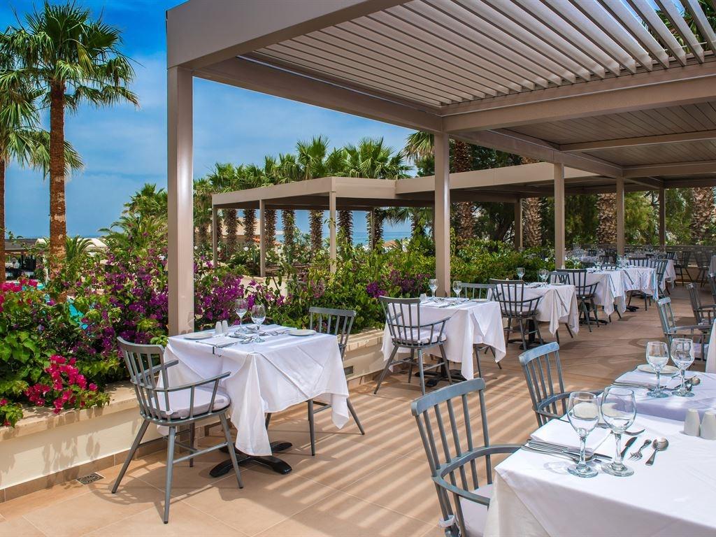 ресторан отеля Rethymno Palace