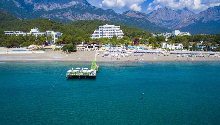 общий вид отеля TUI FUN & SUN Comfort Beach Resort