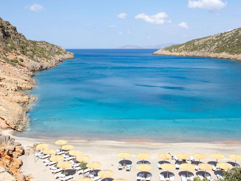 пляж отеля Daios Cove Luxury Resort & Villas