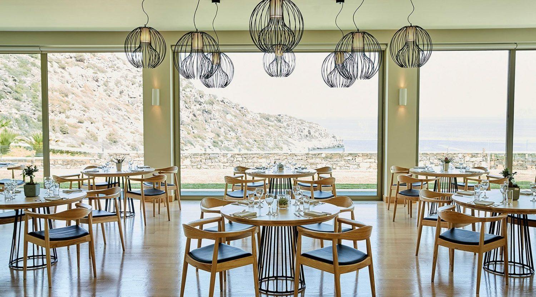 ресторан отеля Daios Cove Luxury Resort & Villas