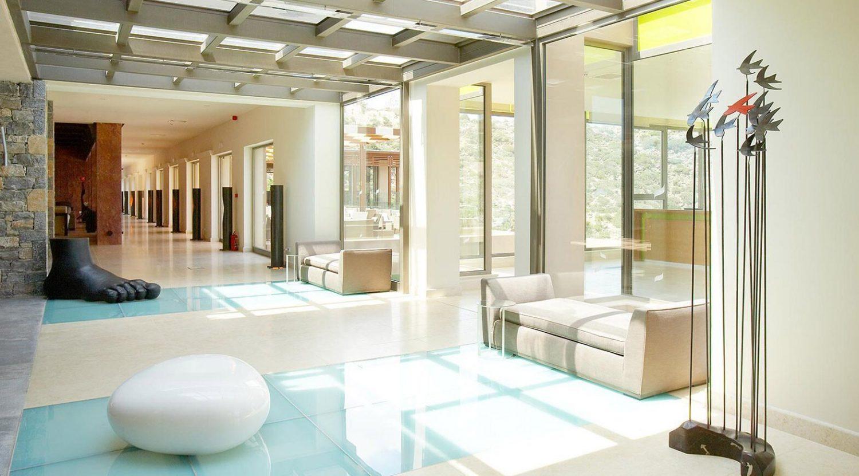 холл отеля Daios Cove Luxury Resort & Villas