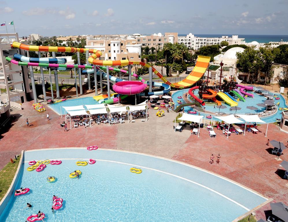 аквапарк отеля LTI-Mahdia Beach