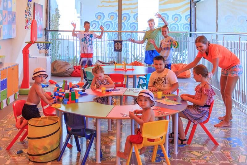 детский клуб отеля Orka Sunlife Resort & Spa