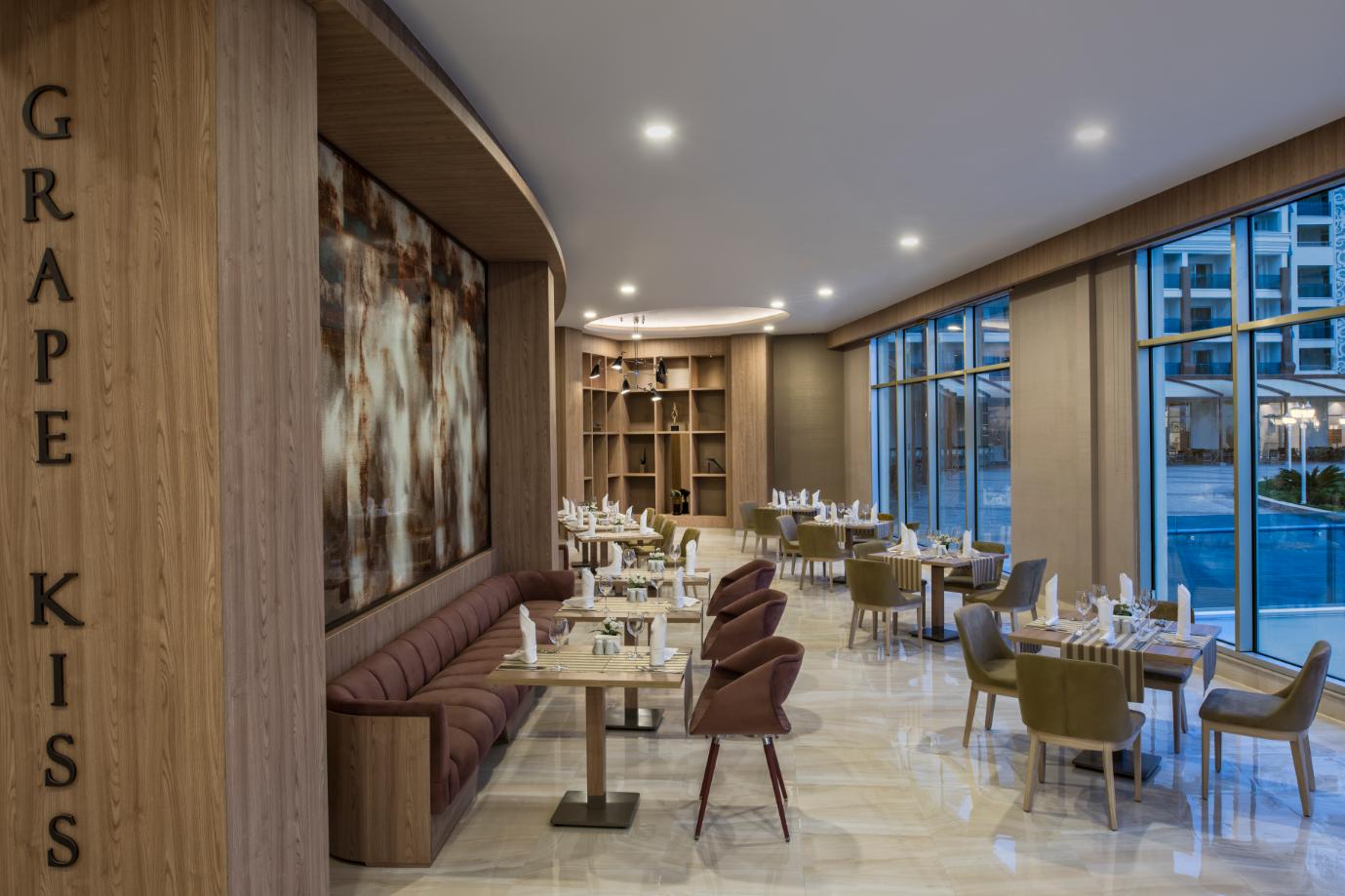ресторан отеля Delphin BE Grand Resort