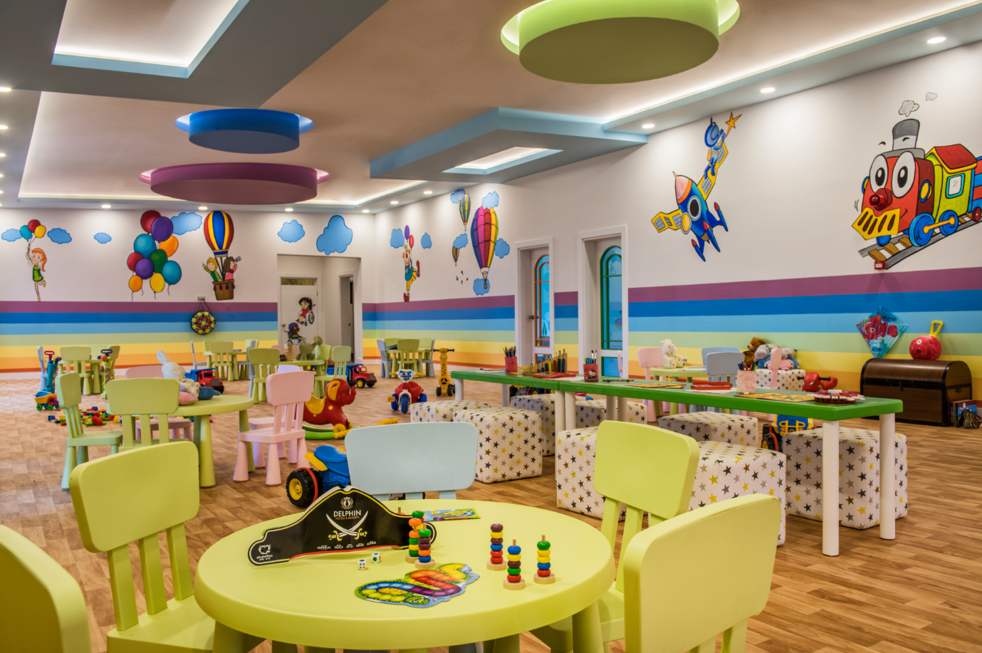 детский клуб отеля Delphin BE Grand Resort