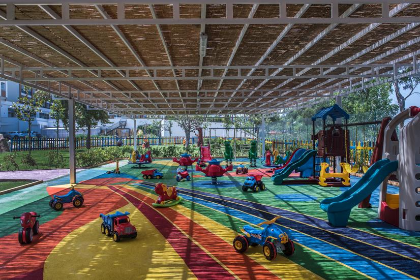 детская площадка отеля Delphin BE Grand Resort