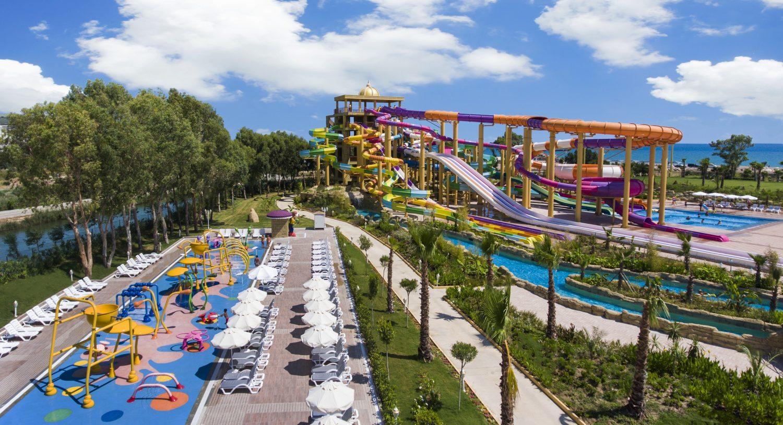 аквапарк отеля Delphin BE Grand Resort