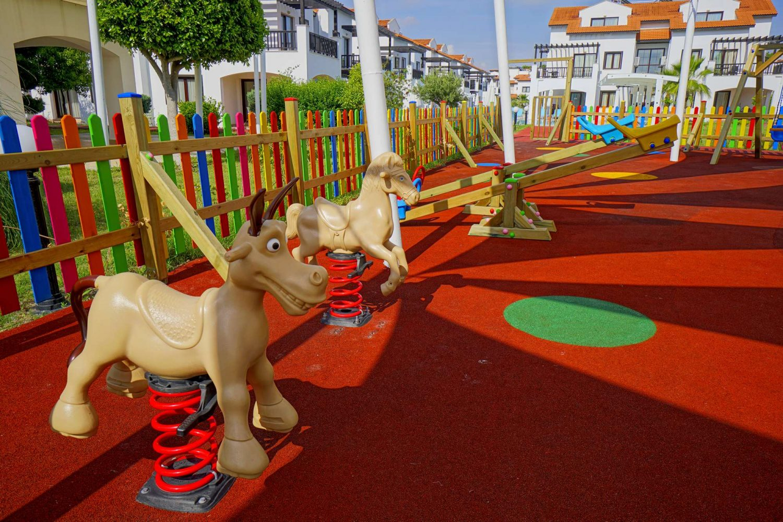 детская игровая площадка отеля TUI FUN&SUN River Resort Belek