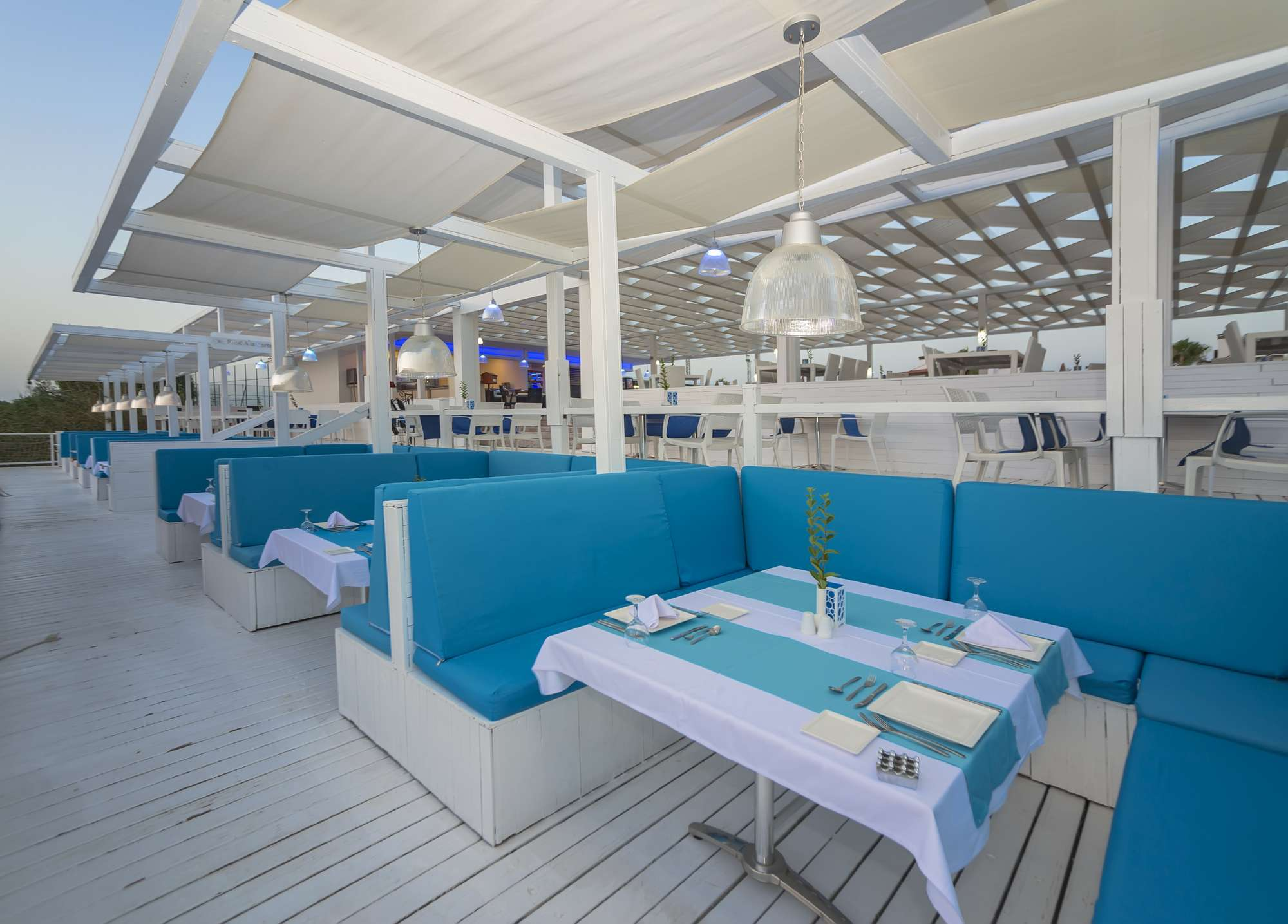 ресторан отеля TUI FUN&SUN River Resort Belek