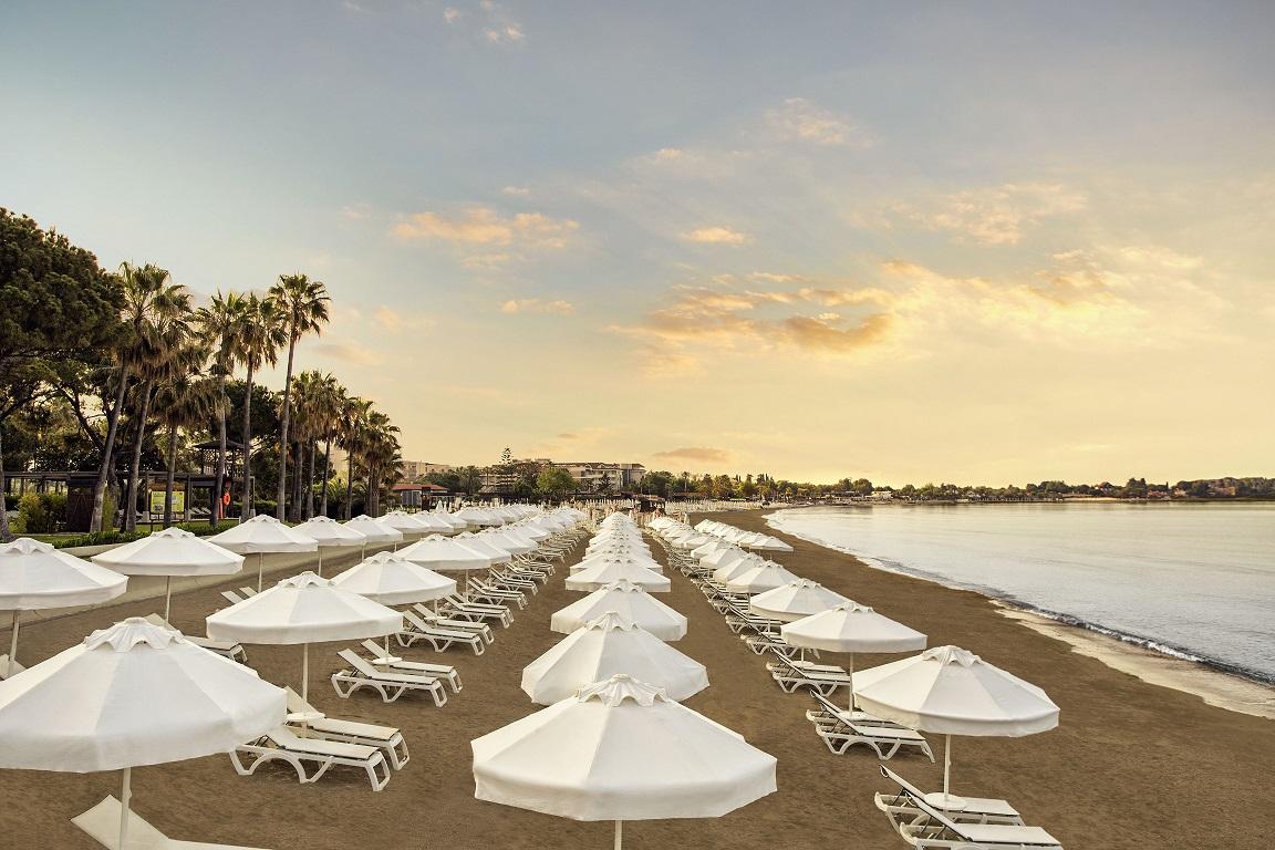 пляж отеля Barut Acanthus & Cennet
