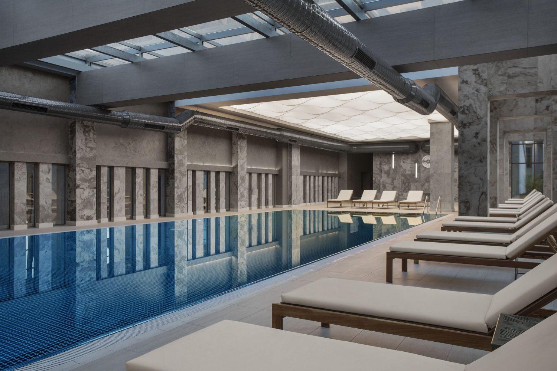 крытый бассейн отеля Barut Acanthus & Cennet