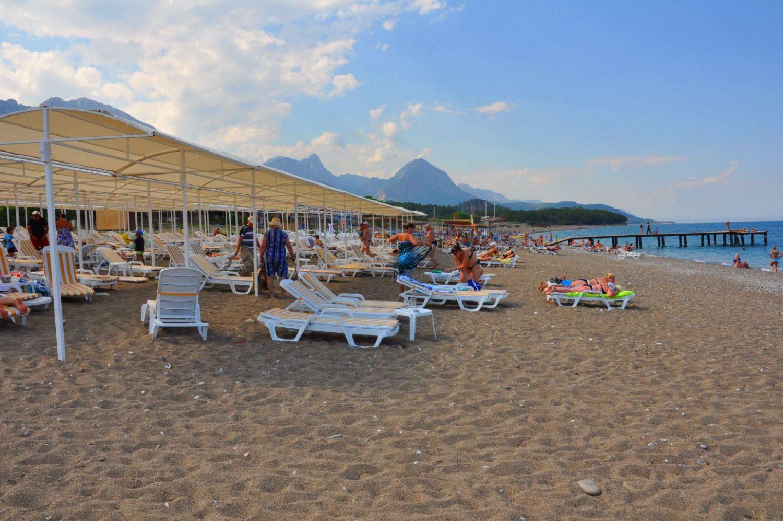 пляж отеля Botanik Magic Dream