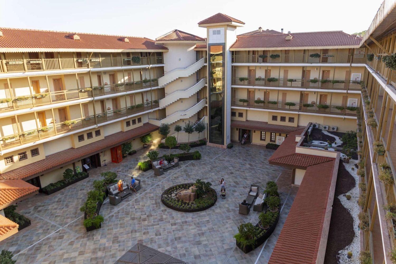 корпус отеля Club Hotel Phaselis Rose