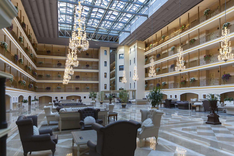 лобби отеля Club Hotel Phaselis Rose