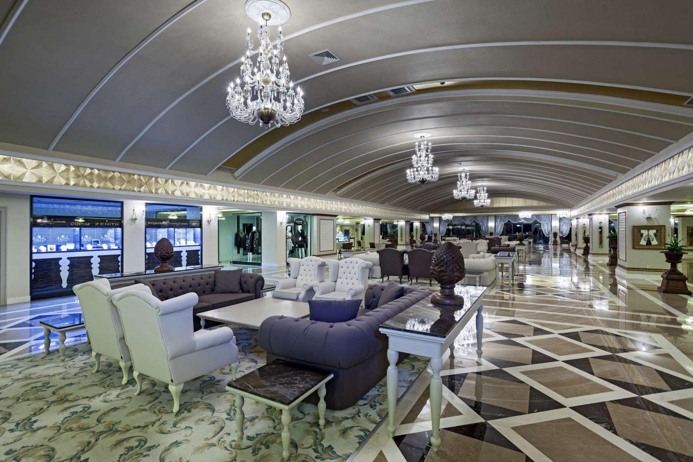 лобби бар отеля Club Hotel Phaselis Rose