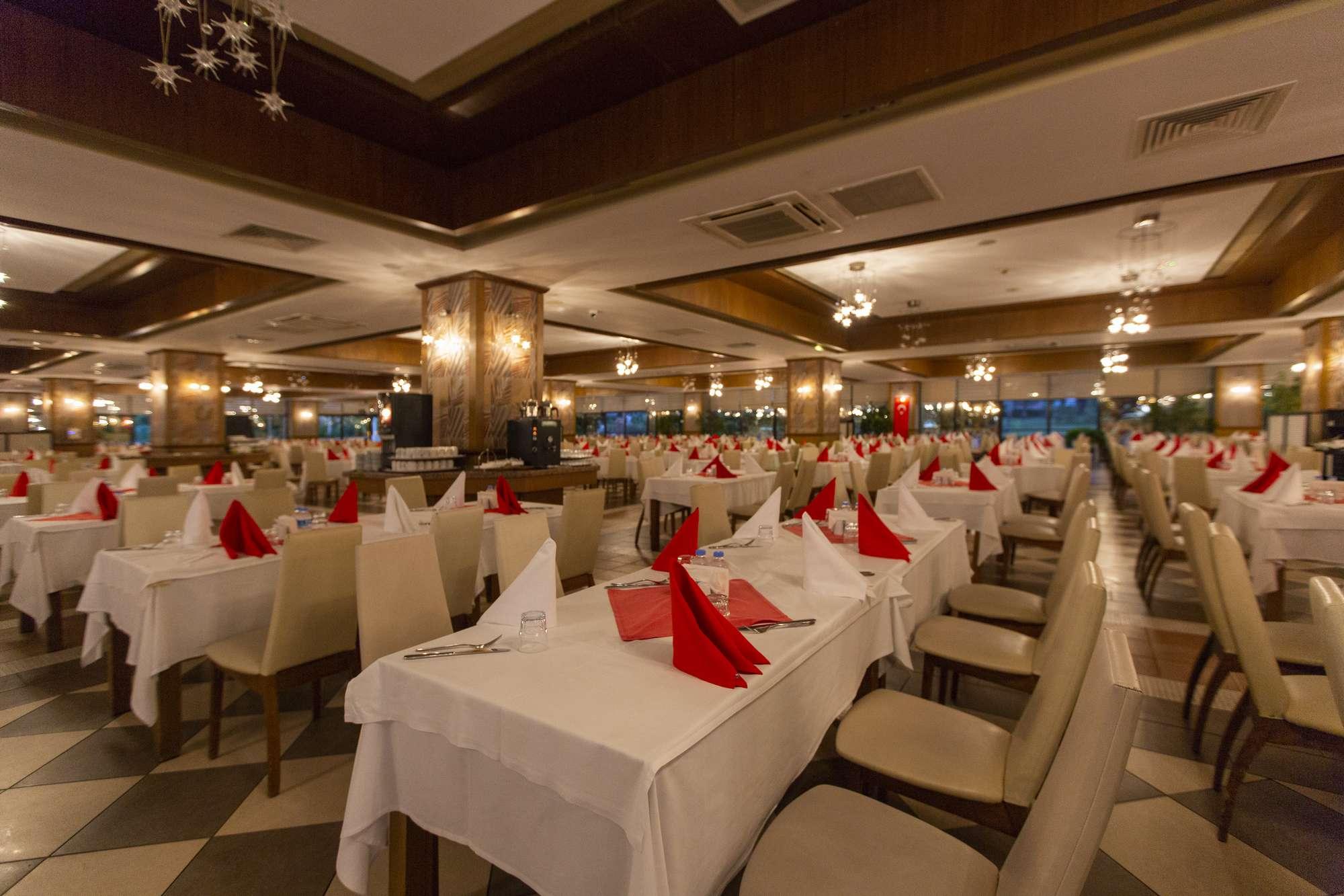 ресторан отеля Club Hotel Phaselis Rose