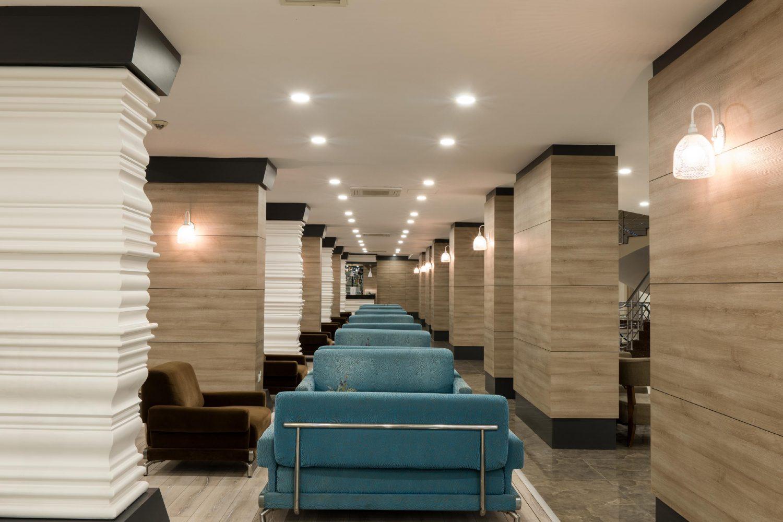 лобби отеля Throne Seagate Belek Hotel