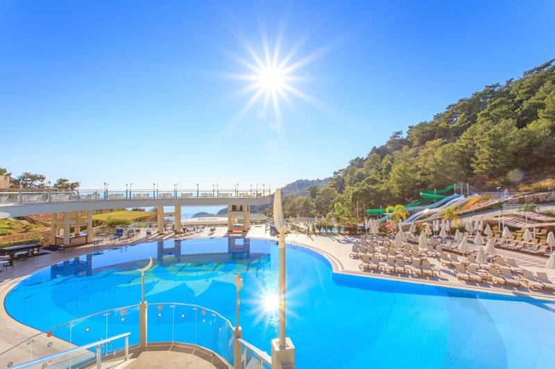 территория отеля Orka Sunlife Resort & Spa