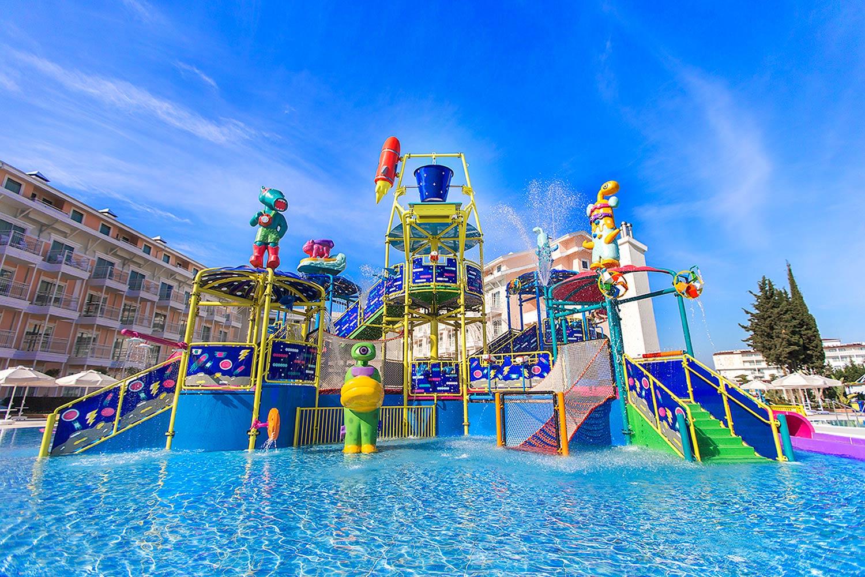 детский аквапарк отеля Innvista Hotels Belek