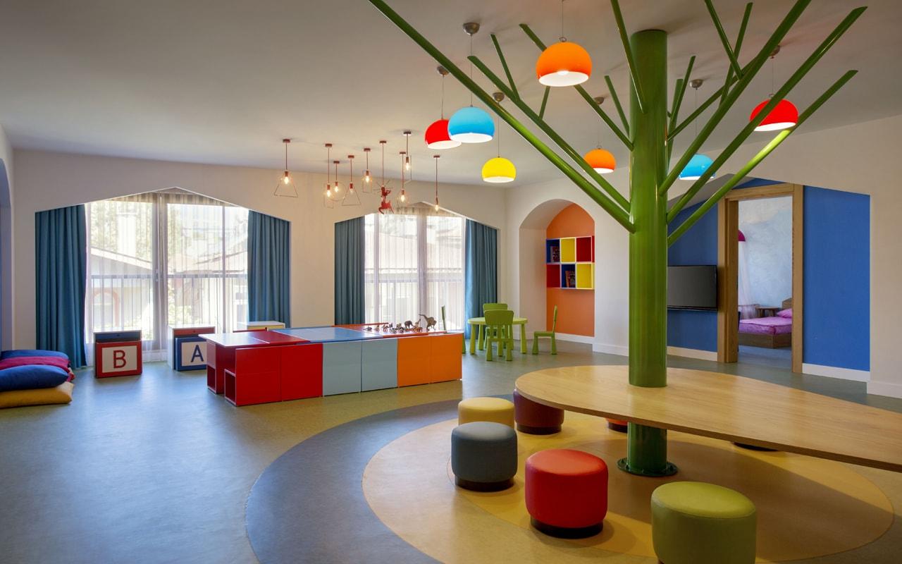 детский клуб отеля Barut Acanthus & Cennet