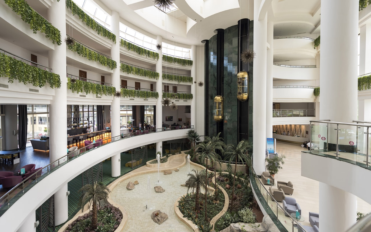 холл отеля Barut Kemer