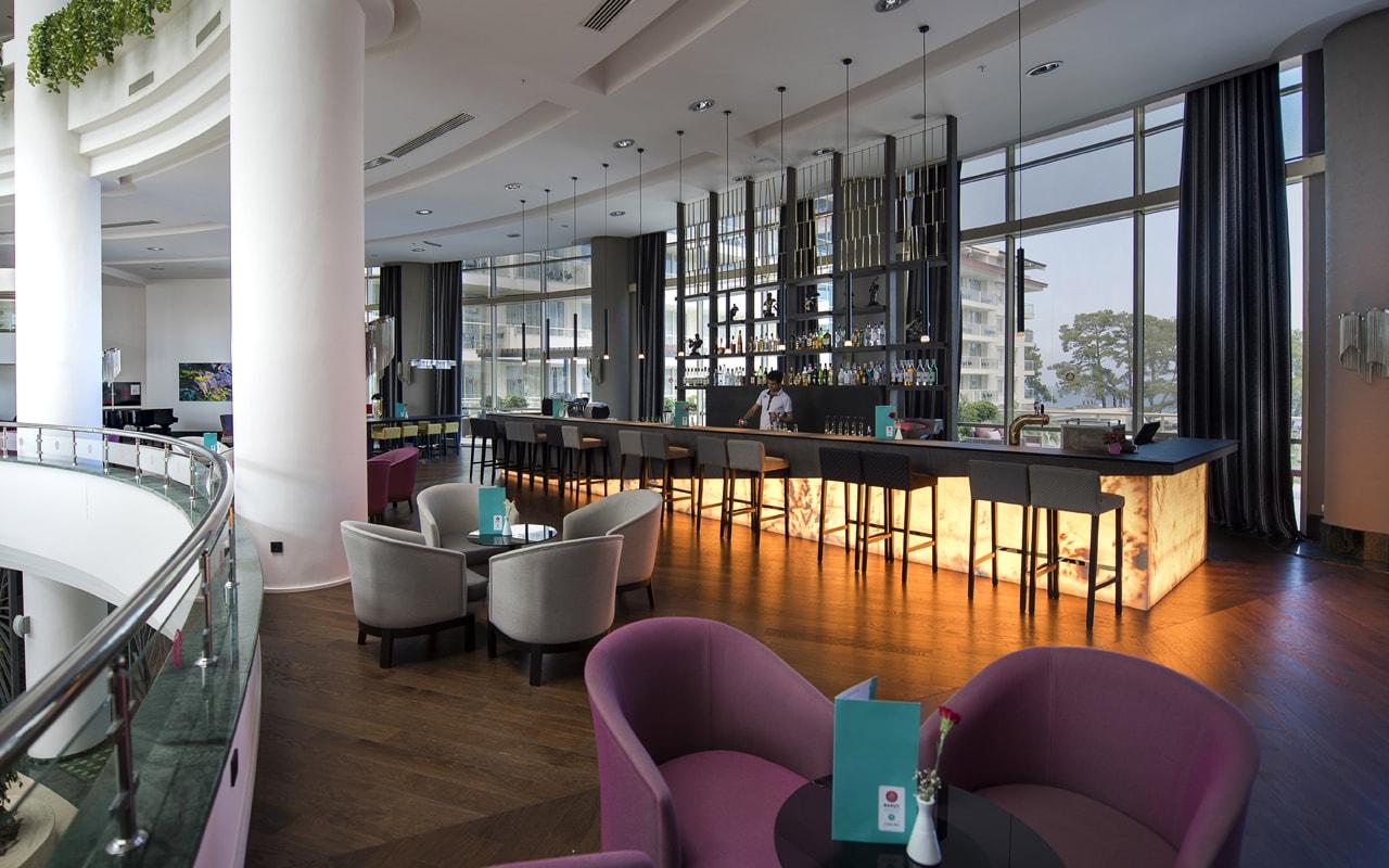 лобби бар отеля Barut Kemer