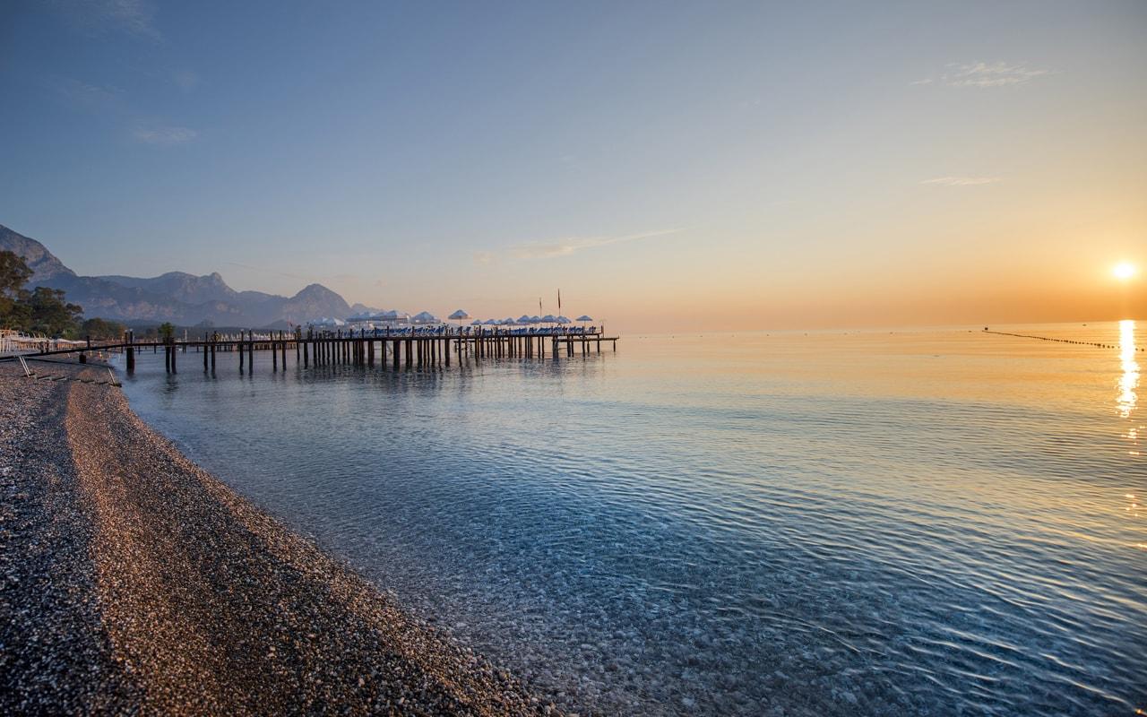 пляж отеля Barut Kemer