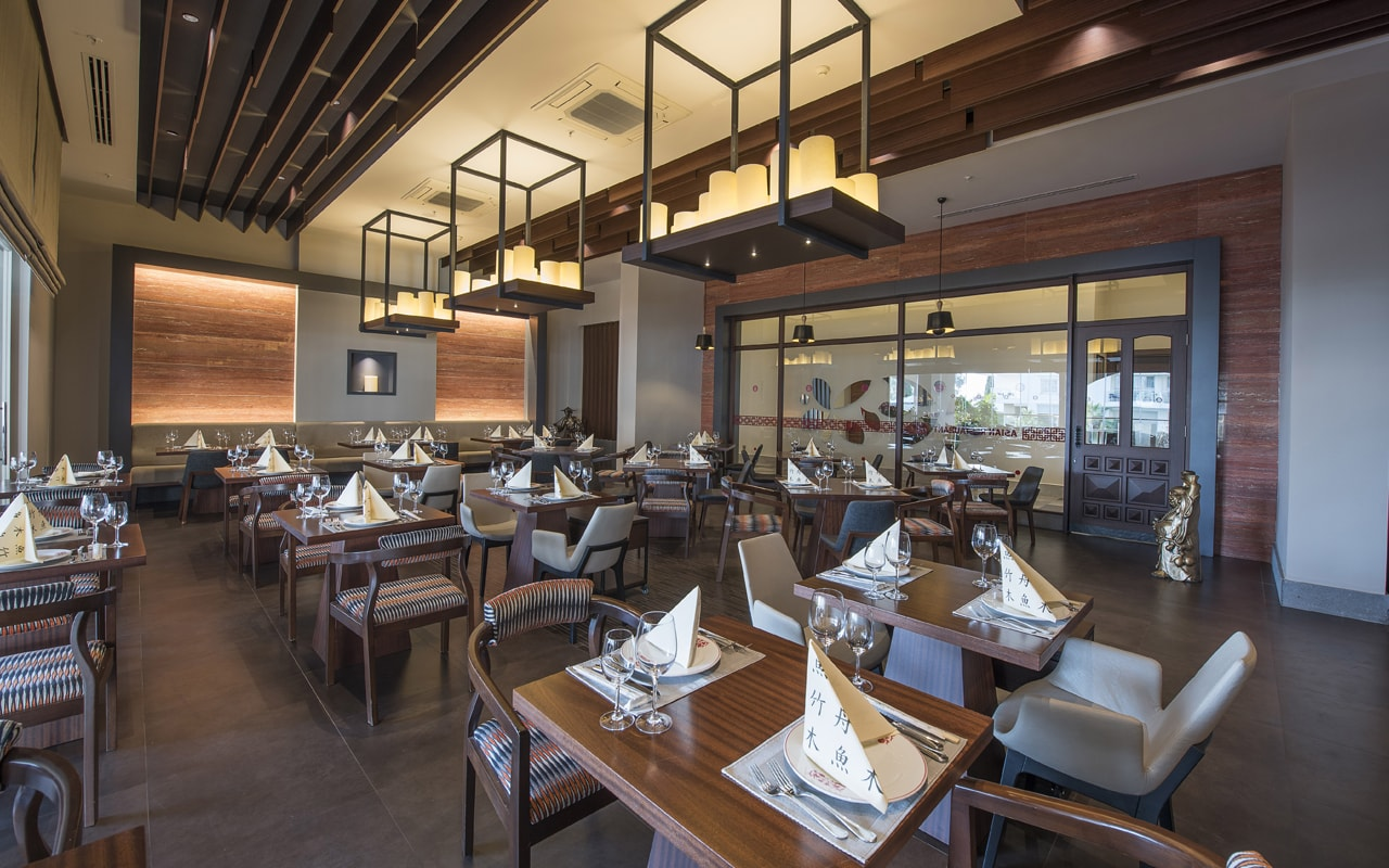 ресторан отеля Barut Kemer