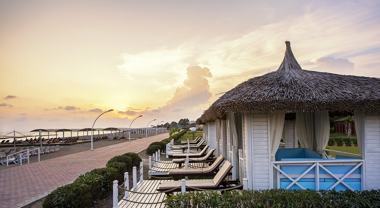 пляж отеля Innvista Hotels Belek