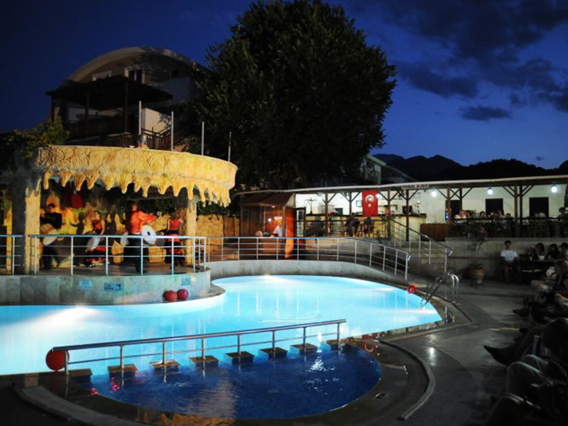 территория отеля Botanik Magic Dream