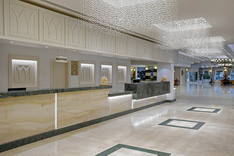 ресепшн отеля Innvista Hotels Belek
