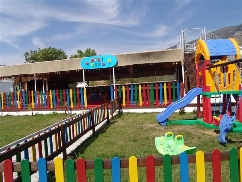 детский клуб отеля Sahra Su Holiday Village & Spa