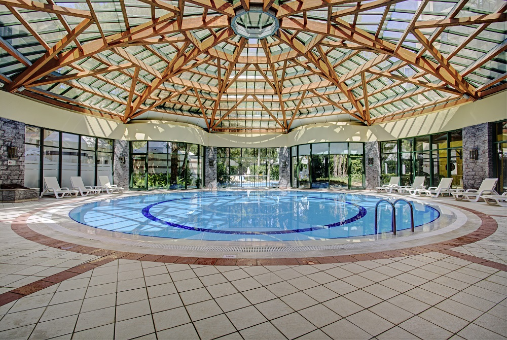 крытый бассейн отеля TUI FUN&SUN Club Belek