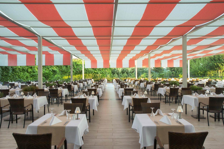 терраса ресторана отеля Innvista Hotels Belek