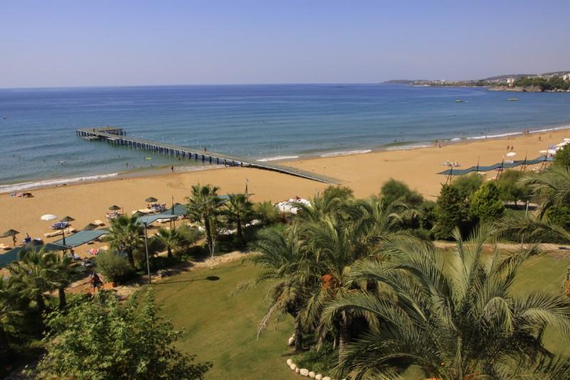 пляж отеля TT Hotels Pegasos Club